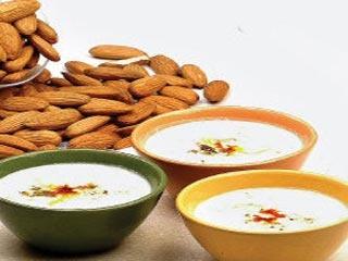 Almond Saffron Kheer (Indian Dessert Recipe)