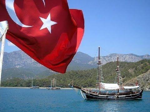 Отличное видео, тёплое моря, солнце, пляж, Турция, Кемер, отель Ambiente 4*