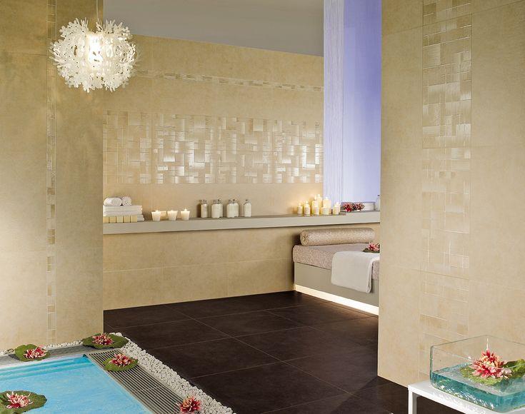 Oltre 25 fantastiche idee su piastrelle del bagno rosa su - Piastrelle rosa ...