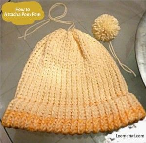 Loom A Hat - How to Loom - FREE Loom Knitting Patterns and Video TutorialsLoom Knitting Patterns, Knifty Knitter, Loom Knits, Videos Tutorials, Knits Pattern, Knits Loom, Circles Loom, Pom Pom, Crochet Knits