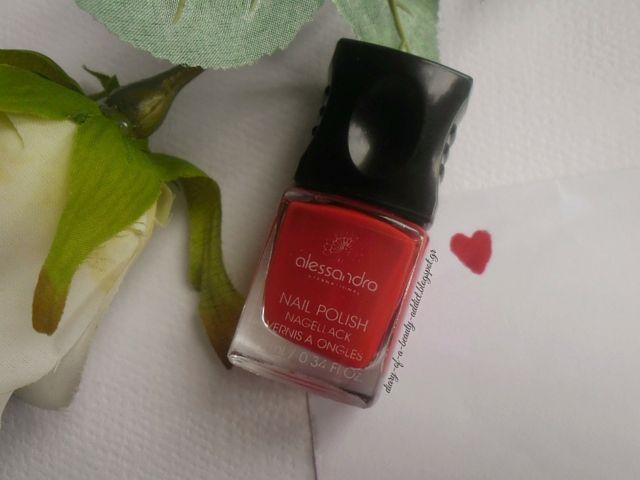 Alessandro International Nail Polish Secret Red