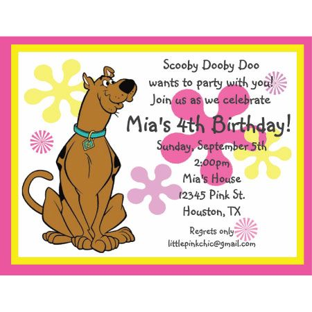 338 best Scooby Doo Birthday Party Ideas images on Pinterest