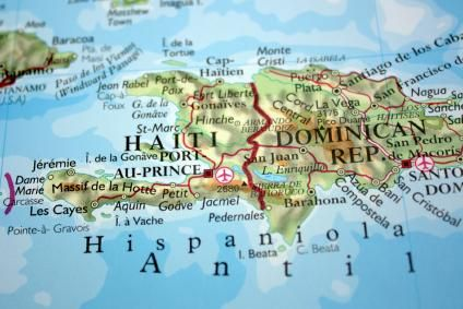 maps of haiti and dominican republic | Map of Haiti's island