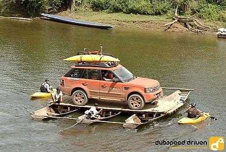 G4 Range Rover Sport Rafting Off Road 4x4 Travel