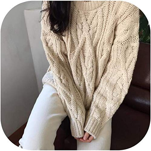 New Old street Women's Sweaters Japanese Chic Pullover Twist Sweater Female Korean Harajuku Cute Clothing Women online shopping