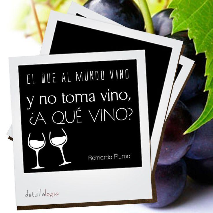 Citas: El vino