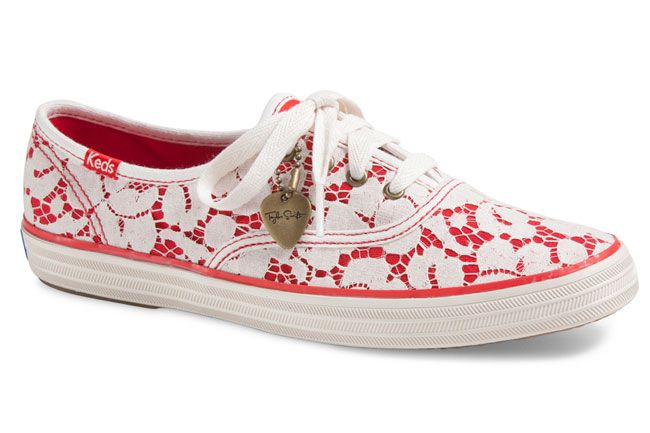 Taylor Swift Debutsa Fall Footwear Collection for Keds: Lace Champion sneakers: Taylor Swift for Keds Champion sneakers