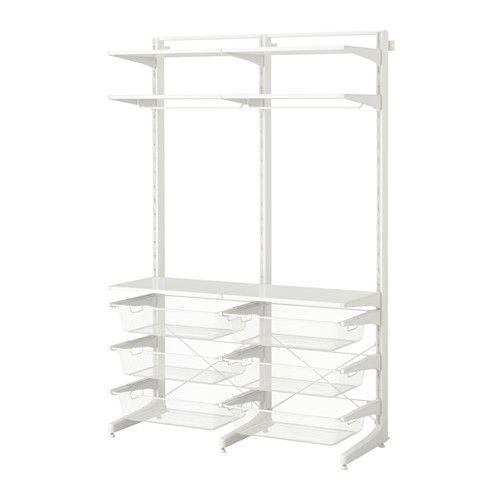 IKEA стойка/ножка/сетчатые корзины АЛЬГОТ 591.611.33 купить в  интернет магазине