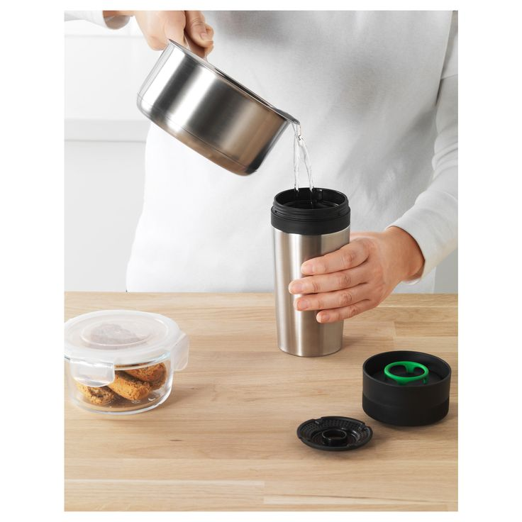 ikea efterskt travel mug leakproof travel mug that you can take with you anywhere without spillinga removable filter makes it possible for you to use