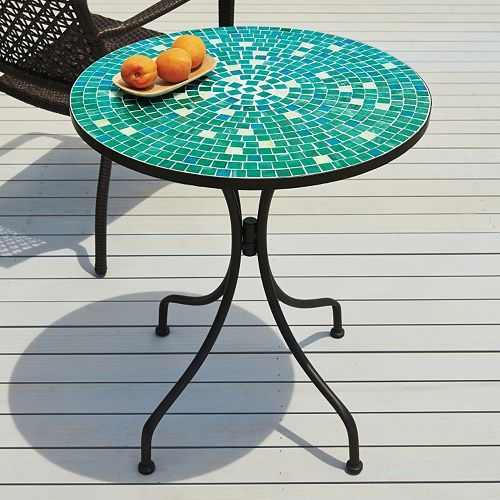 Sonoma Outdoors Mosaic Bistro Table The Great Outdoors