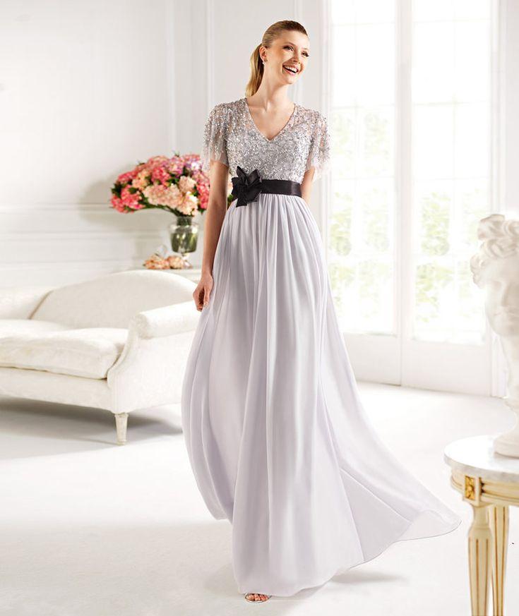 Pronovias apresenta o seu vestido de festa Capri da coleção Madrinha 2013. | Pronovias