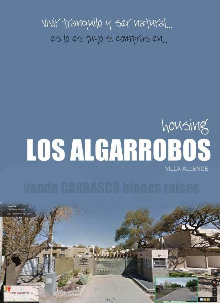 Vivir tranquilo y ser natural es lo tuyo si comprás en Housing Los Algarrobos, en Villa Allende.