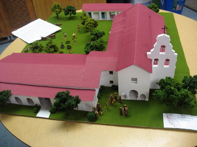 San Juan Bautista Mission Model | Recent Photos The Commons Getty Collection Galleries World Map App ...