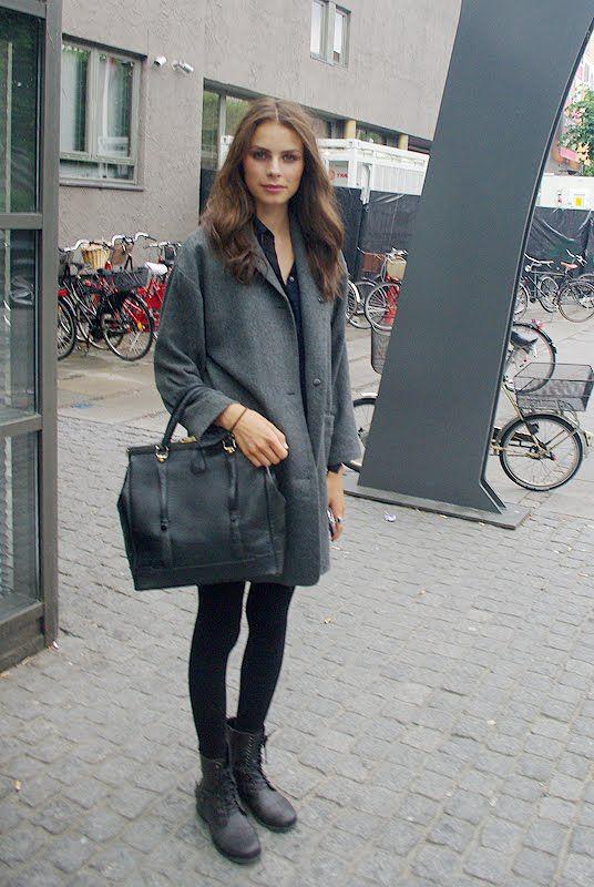 Jacket I would like to have!  Style hurricane: Copenhagen street style