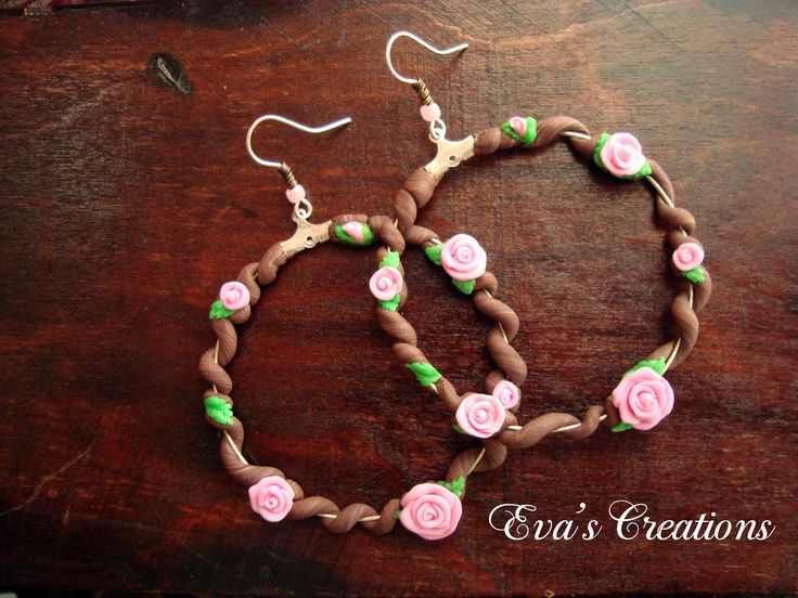 https://www.etsy.com/listing/222502505/floral-earrings-polymer-clay-pink-roses
