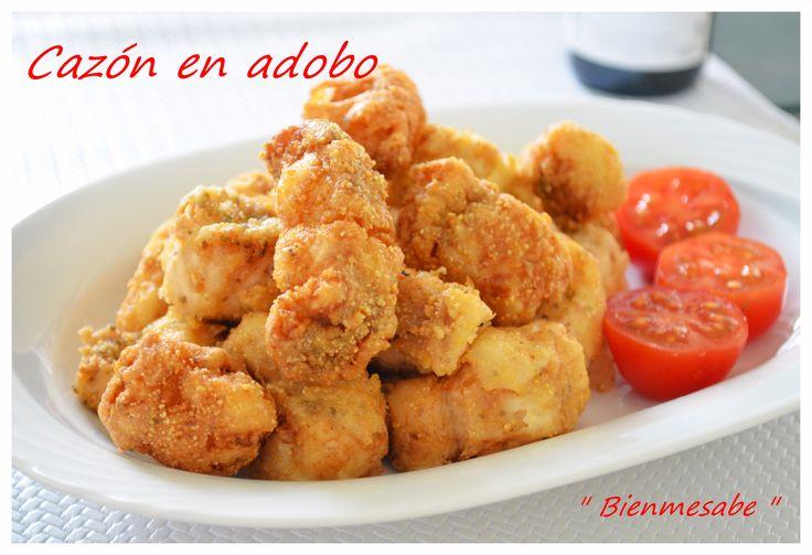 Cazón en adobo. ( Andalucía )