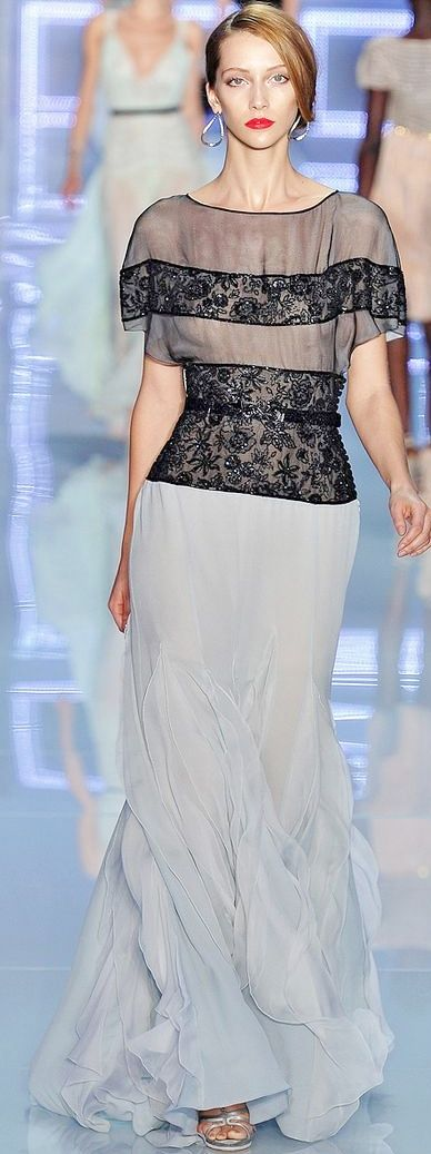 96 best Alta costura images on Pinterest | Evening gowns, Gown dress ...