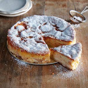 A cream torte is like a cross between a cake, a custard, and a dutch baby. The…