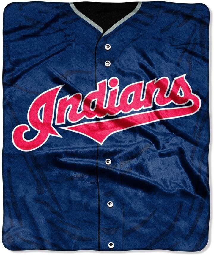 new concept 21240 468b8 Cleveland Indians Jersey Raschel Throw by Northwest #wear ...