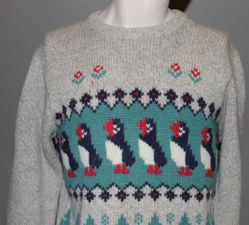 All I want is a puffin sweater