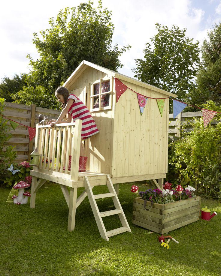 maisonnette bois blooma alisma maisonnette en bois cabane bois enfant et cabane bois