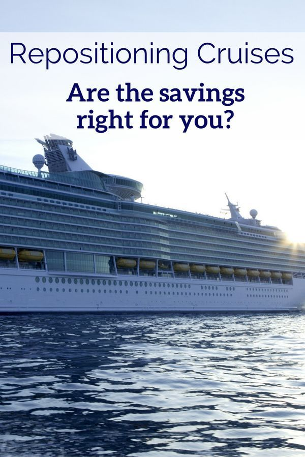 1000 Ideas About Repositioning Cruises On Pinterest
