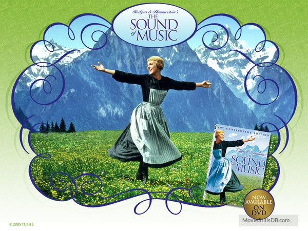 The Sound Of Music Wallpaper With Julie Andrews Music Wallpaper Sound Of Music Movie Wallpapers