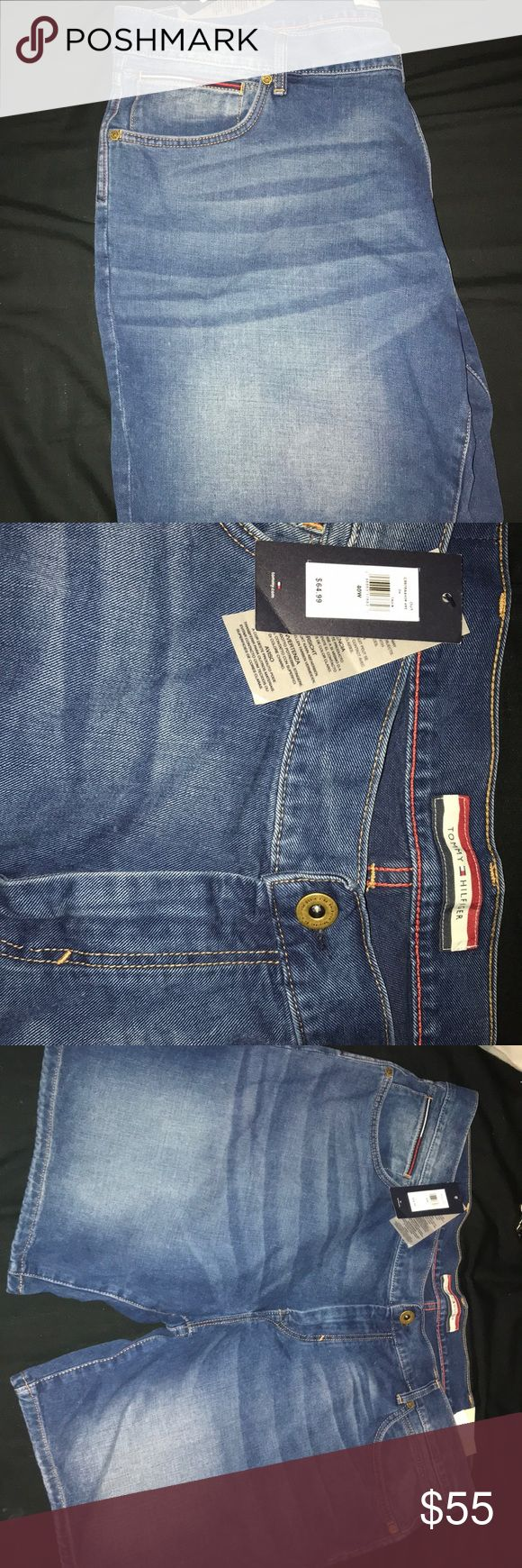 Tommy Hilfiger jean shorts for men Brand new Tommy Hilfiger jean shorts for men! Tommy Hilfiger Shorts Jean Shorts