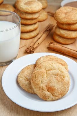 Snickerdoodles  Ingredients  1/2 cup butter, room temperature  3/4 cup sugar  1 egg  1 teaspoon vanilla extract  1 1/4 cups all-purpose flour  1 teaspoon baking powder  1/4 teaspoon salt  2 tablespoons sugar  2 teaspoons ground cinnamon
