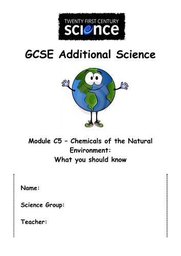 ocr science additional coursework
