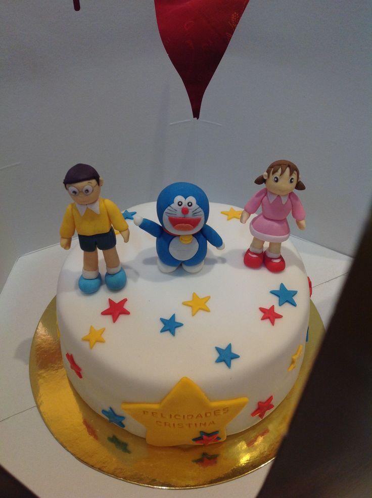 Cake Design Doraemon : 17 Best ideas about Doraemon Cake on Pinterest Fondant ...