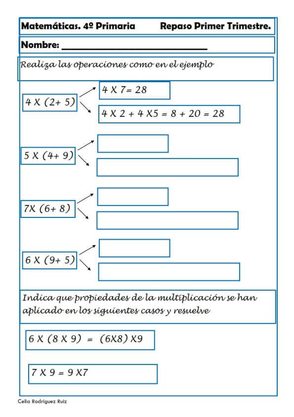 Mejores 7 imágenes de Hojas de trabajo matematicas en Pinterest ...