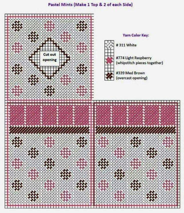 plastic canvas geometric tissue box | 1808 best Tissue box covers plastic canvas images on ...