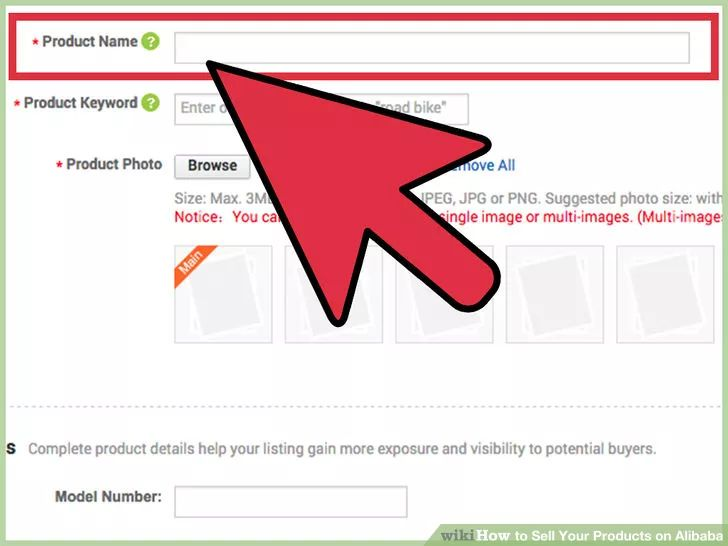 Image titled Sell Your Products on Alibaba Step 5