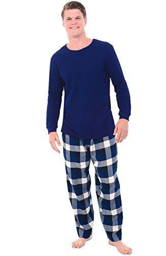b79de069a88b Alexander Del Rossa Mens Flannel Pajamas