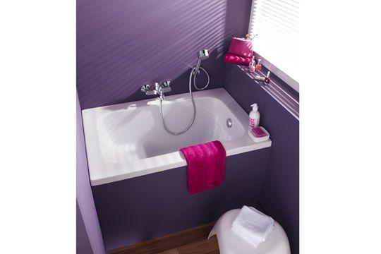 Les 21 meilleures images du tableau salle de bain sur for Petite baignoire carree