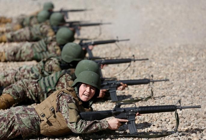 Women in Afghan army overcome opposition, threats - http://thehawk.in/news/women-in-afghan-army-overcome-opposition-threats/
