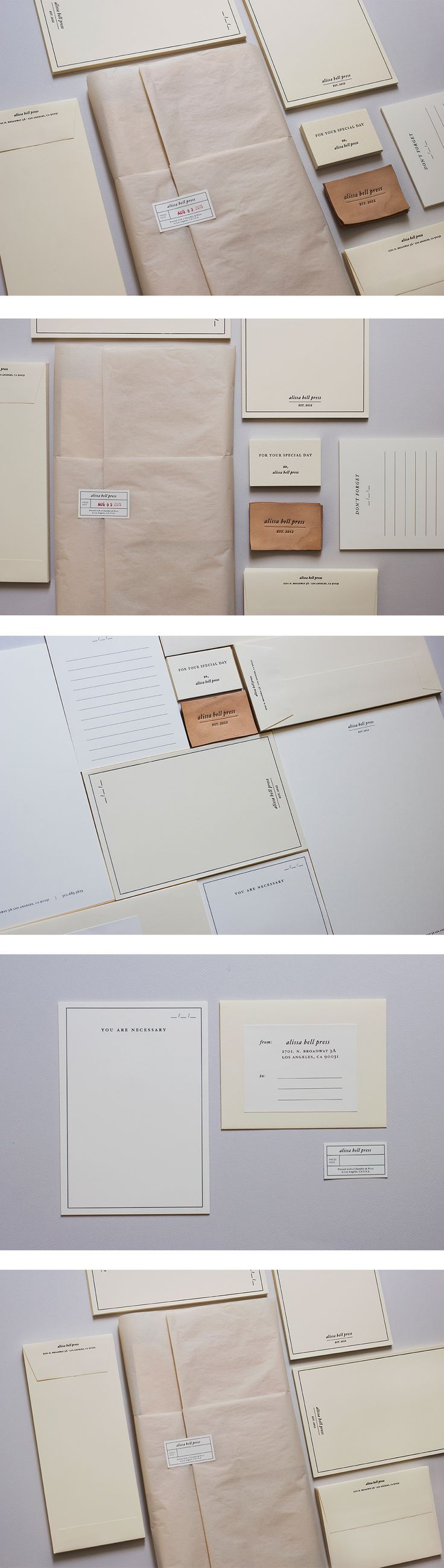 Alissa Bell Press | Brand Collateral 1