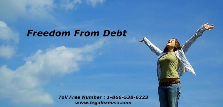 Freedom from Debt call 1-866-538-6223 at legalezeusa We care about your personal and business needs and in that endeavor we do not compromise on quality. We relentlessly pursue all your legal needs until they are fulfilled. This is why we enjoy an A+ rating at the Better Business Bureau. At LegalEze USA, you can rest assured that your case is in good hands.