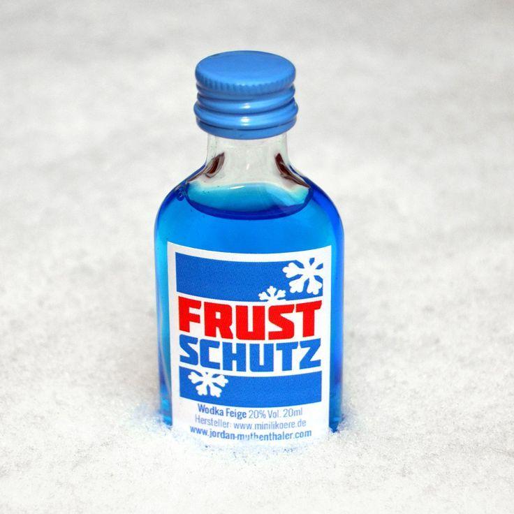 Frust-Schutz - Wodka-Feige-Likör - Geschenke von Geschenkidee