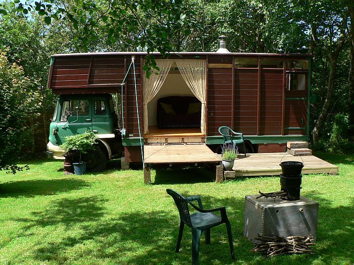 Horsetrailer conversion - Nice work -  -  To connect with us, and our community of people from Australia and around the world, learning how to live large in small places, visit us at www.Facebook.com/TinyHousesAustralia