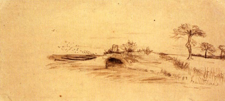 The Cave of Machpelah 1877 Vincent van Gogh