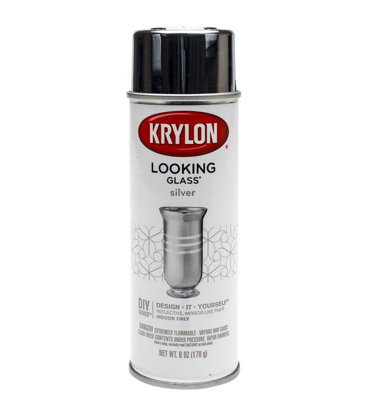 KRYLON-Looking Glass Mirror-Like Spray Paint. Transform clear glass into a…