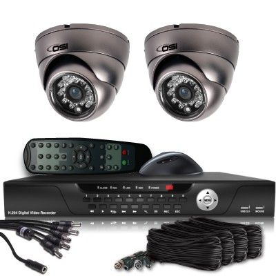 OSI CCTV Security Systems - 2 Camera Value Series D1 Security System  (Indoor/Outdoor Vandal Proof 600TVL Dome), $349.00 (http://www.osicctv.com/2-camera-value-series-d1-security-system-indoor-outdoor-vandal-proof-600tvl-dome/)