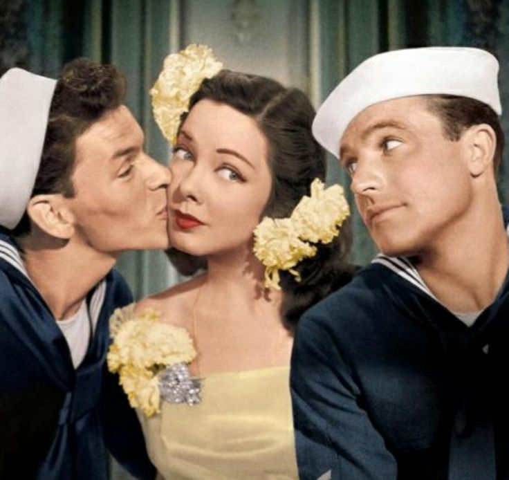 Frank Sinatra Kathryn Grayson and Gene Kelly