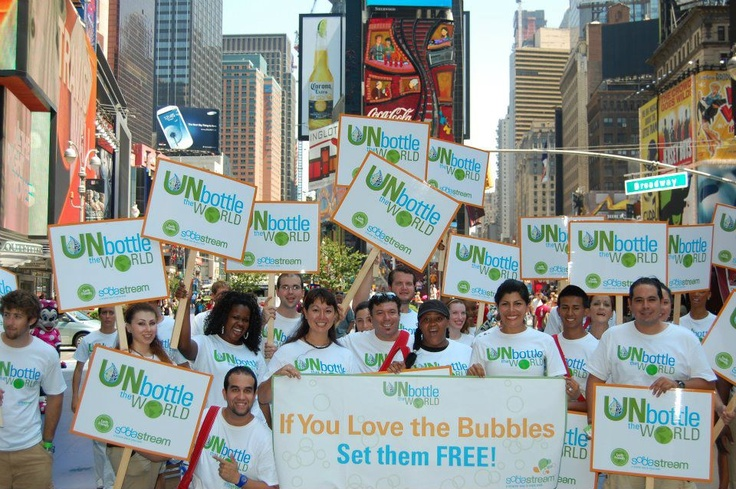 Unbottle the World Day in NYC!
