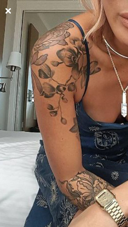 50 Arm Floral Tattoo Designs für Frauen 2019 – Seite 32 von 50   – Tattoo