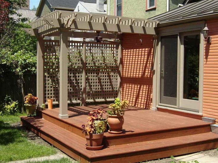 Simple pergola   No plans included