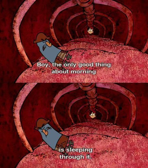 From the Marvelous Misadventures of Flapjack<<< I miss this show!