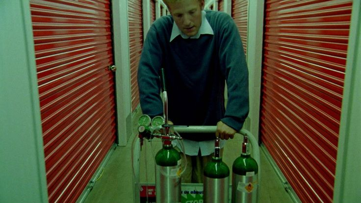 Shot from the movie Primer (2004)